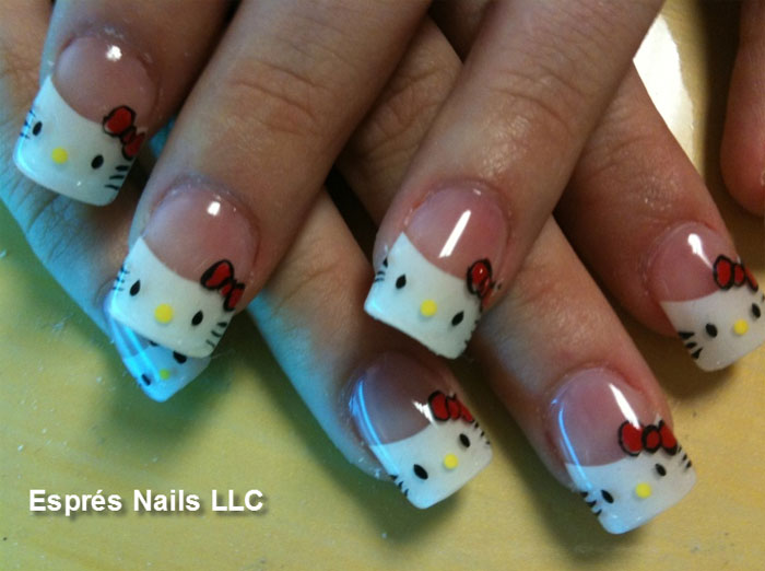 Nail art esprs nails spa plain painted nails are not enough to most of them what is really in is nail art prinsesfo Gallery